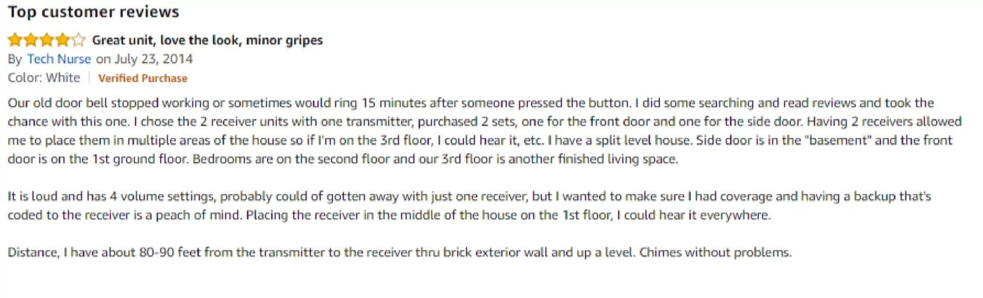 Customer reviews of sedo tech 01