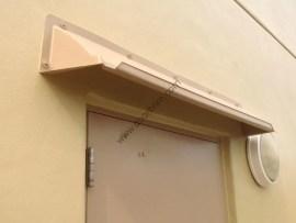 DOORBRIM Single Rain Guards for Doors & Windows