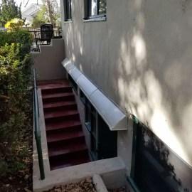 DOORBRIM Extended Width Door Canopies larger than 96 inches.