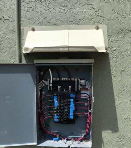 door canopy - Electic Panel Rain Guard