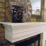 Dear Internet Here S How To Build A Fireplace Mantel Do Or Diy