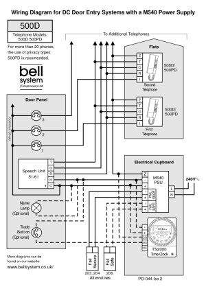 bell wiring diagrams