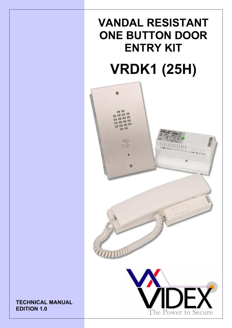Videx VRDK1 Manual?resize=665%2C941&ssl=1 m s mc 800 intercom wiring diagrams wiring diagram images  at gsmportal.co