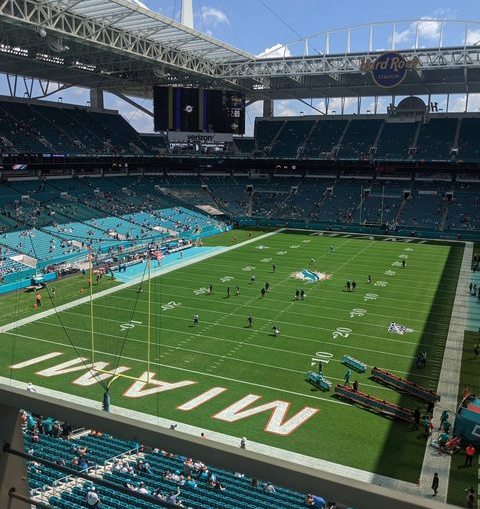 Another sold out crowd in Miami