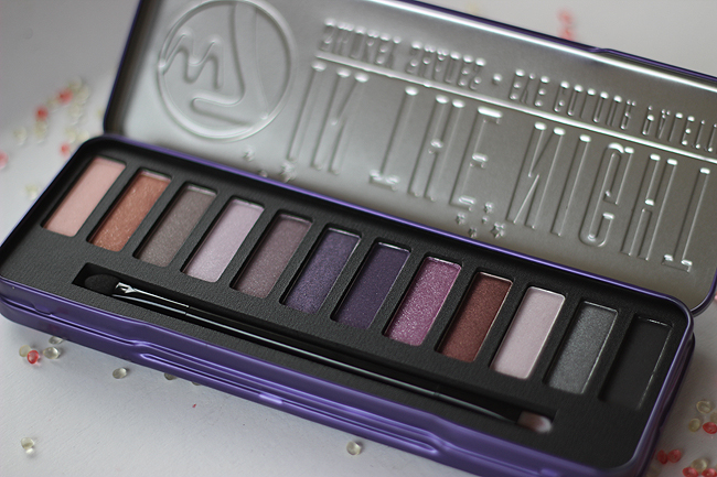 W7 in the night palette (smokey shades)