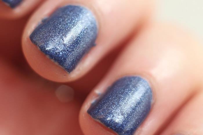 blauwe nagellak etos matt velvet blue
