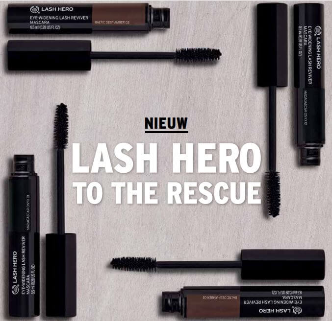 the body shop lash hero to the rescue
