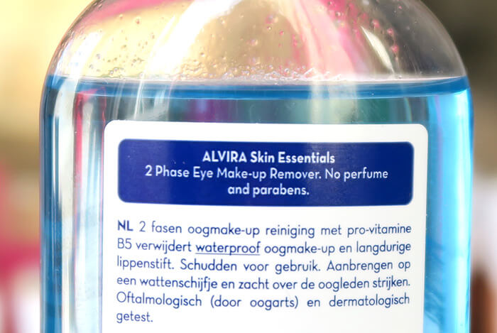 action waterproof make-up remover alvira 2 fasen