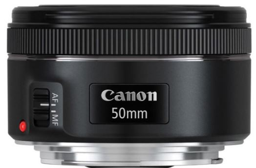 Canon 50mm lens f1.8