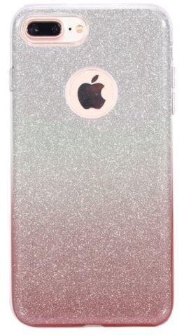 aliexpress telefoonhoesjes iphone 8 plus glitter bruin zilver