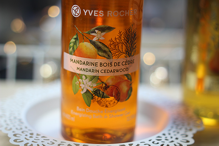 yves rocher douchegel mandarin cedarwood