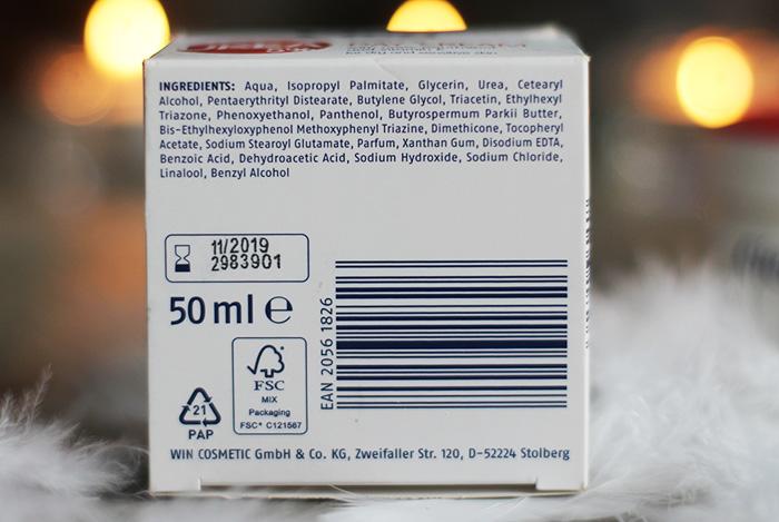 cien lidl dagcreme ingredienten