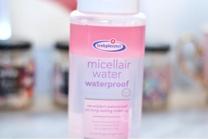 trekpleister micellair water waterproof