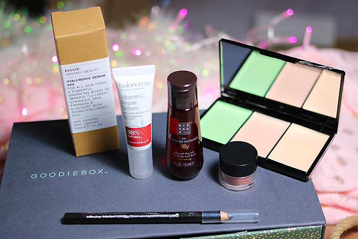 goodiebox december 2018 the reflection box inhoud