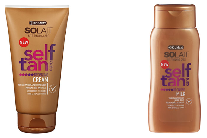 Solait Self Tan Bronzing Milk en cream Kruidvat
