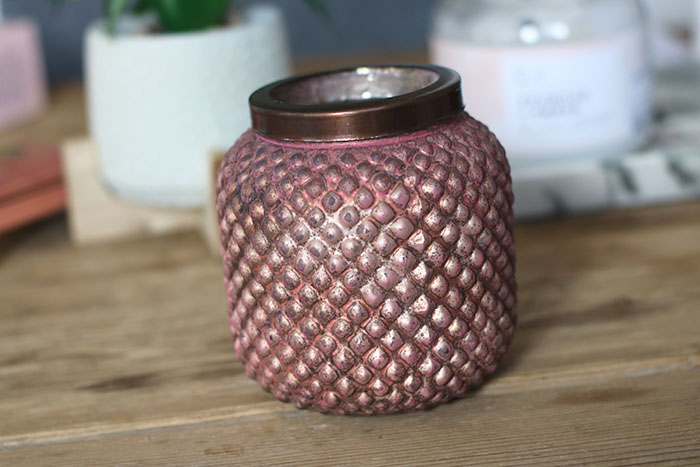 oudroze vaas