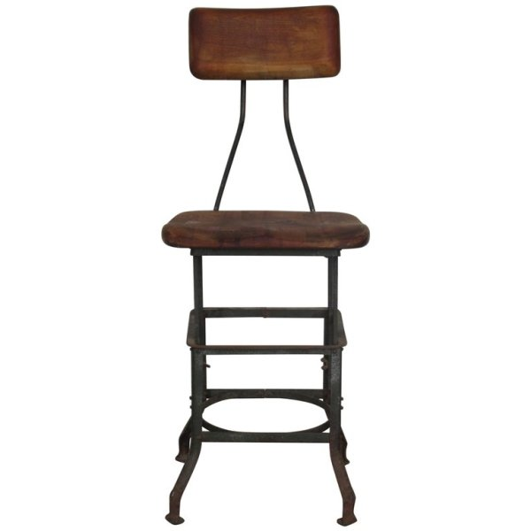 Early Industrial Toledo Stool