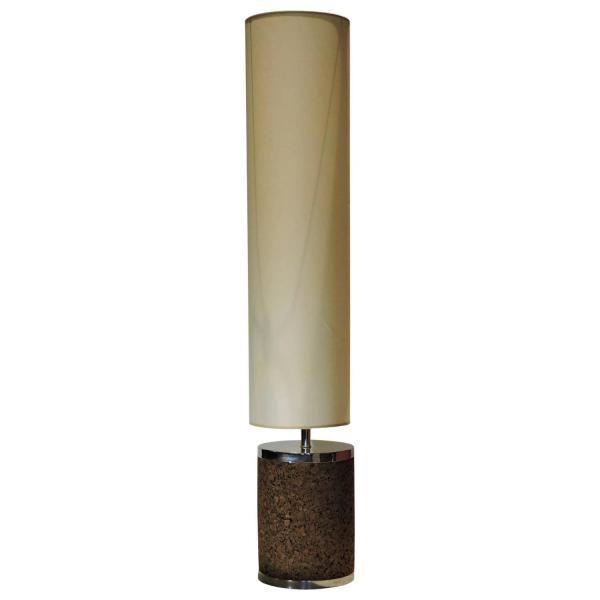 Mid-20th Century Cork Lamp