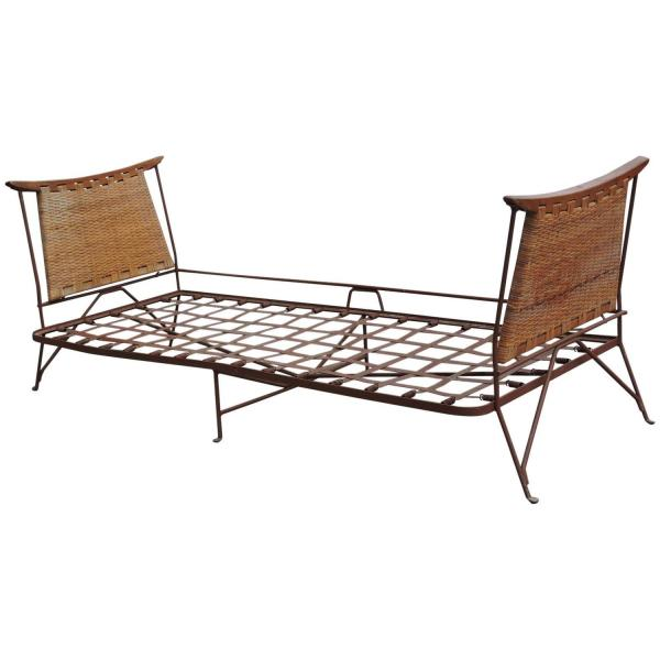 Iron & Cane Daybed Lounge