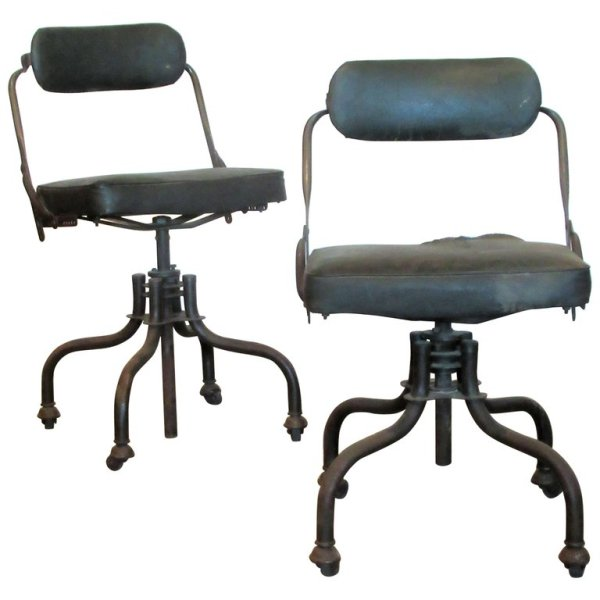 Early Industrial Task Chairs by Domore