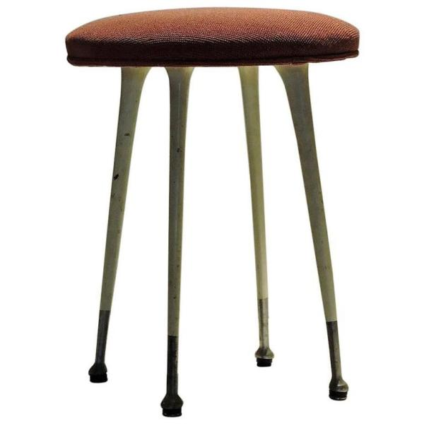 Modernist Gazelle Stool by Shelby Williams