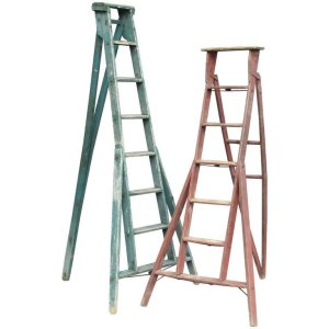 American Harvest Ladders with Original Paint