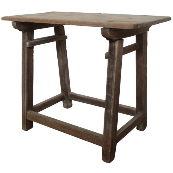 19th Century Rustic Mexican Work Table
