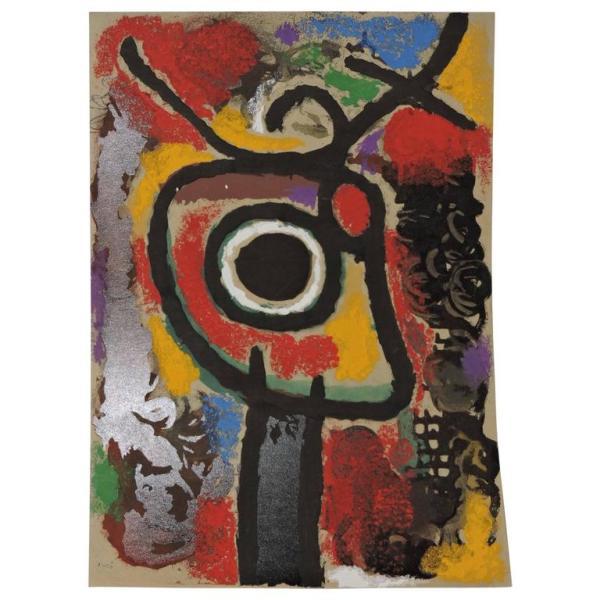 Joan Miro Pochoir 1959 - 1965