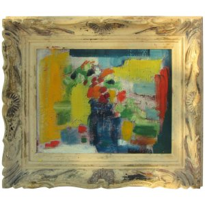 Abstract Impressionist Still Life Painting
