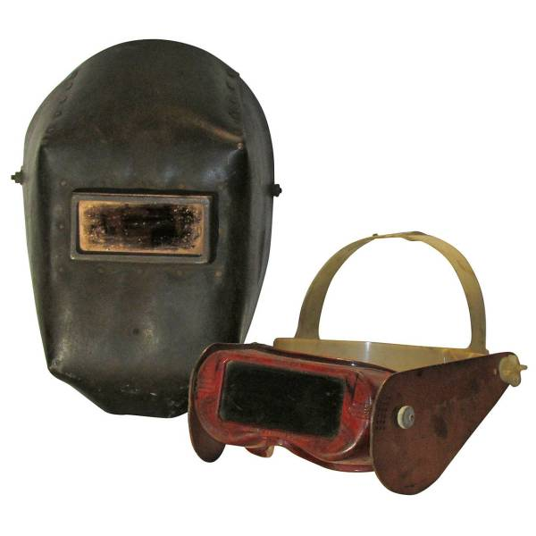 Old Welding Masks
