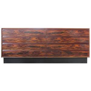 Brazilian Rosewood Credenza by Westnofa Norway
