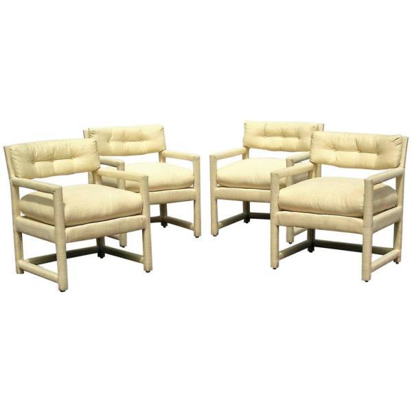 Milo Baughman Parsons Lounge Chairs