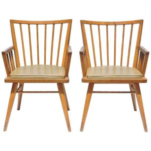 American Modern Armchairs by Russel Wright