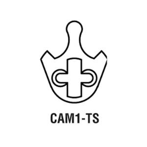 GMS CAM1-TS Falcon/Saflok Cam For Use with GMS Mortise Cylinder