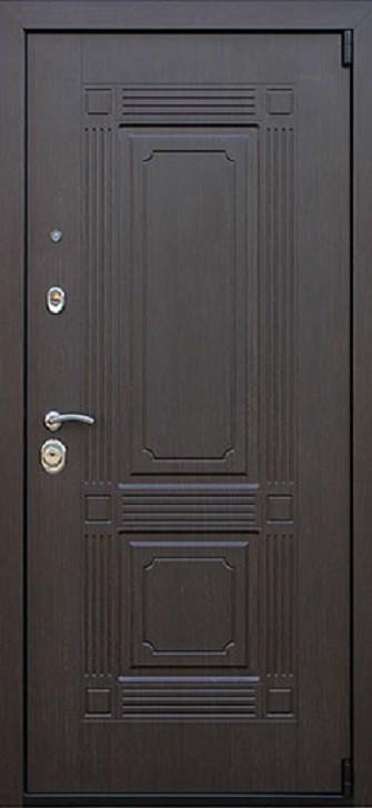 Входная дверь АСД Викинг с зеркалом