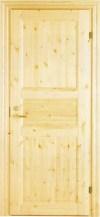 Дверь Matti-Ovi массив сосны одностворчатая