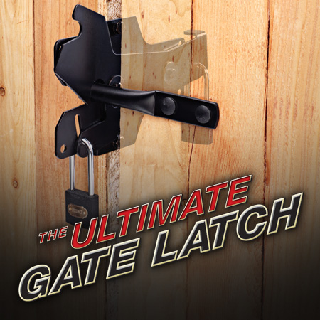 The Ultimate Gate Latch