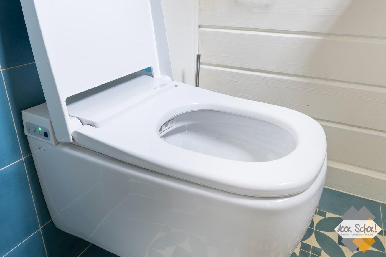 Modern electronisch toilet