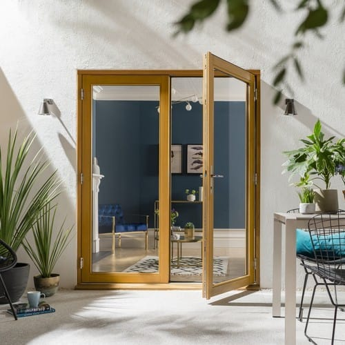 external french doors and patio doors