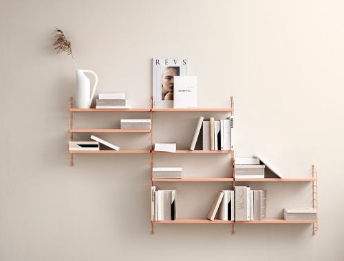 Blush String shelves - doorsixteen.com