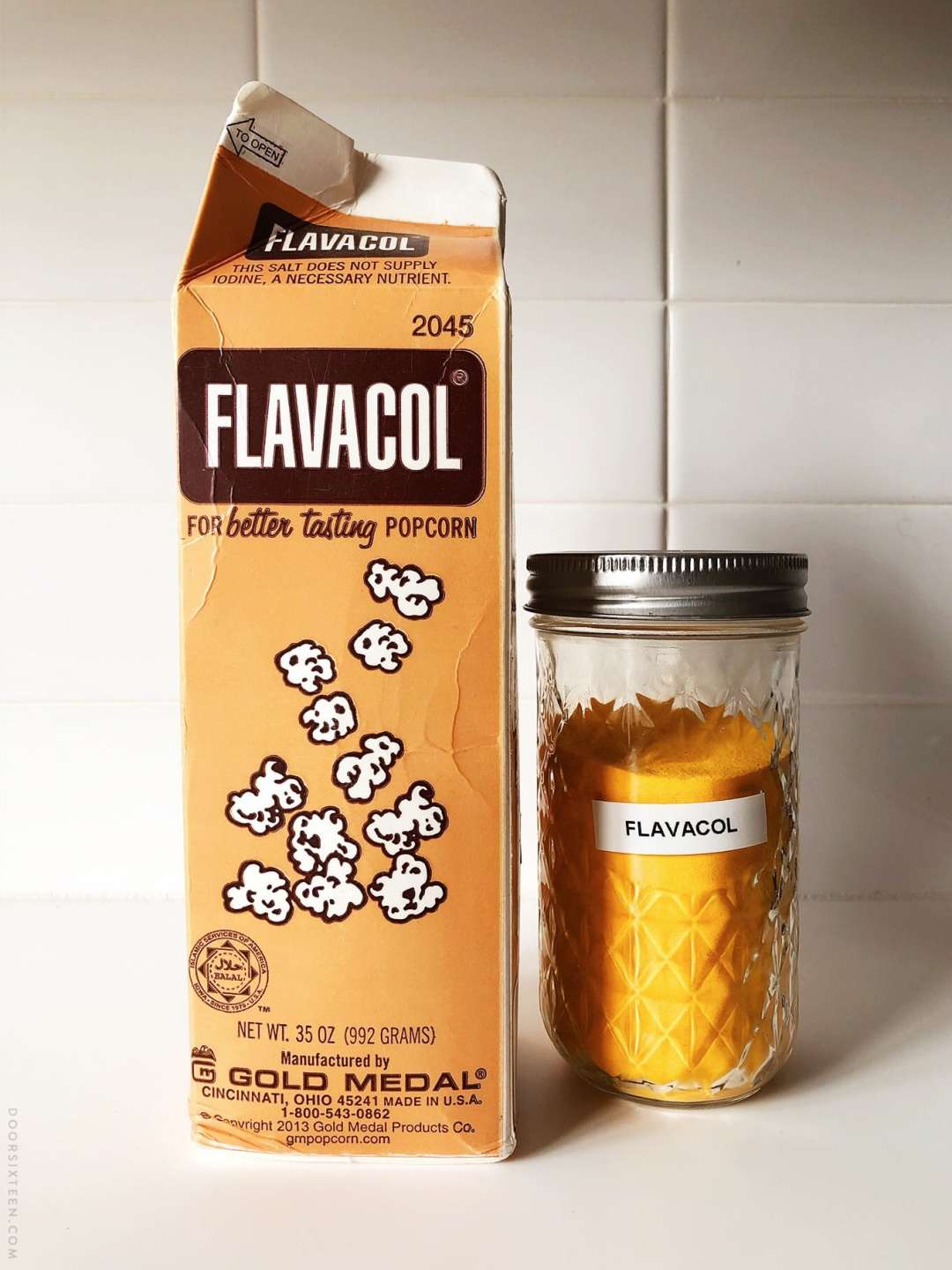 Flavacol for popcorn - doorsixteen.com