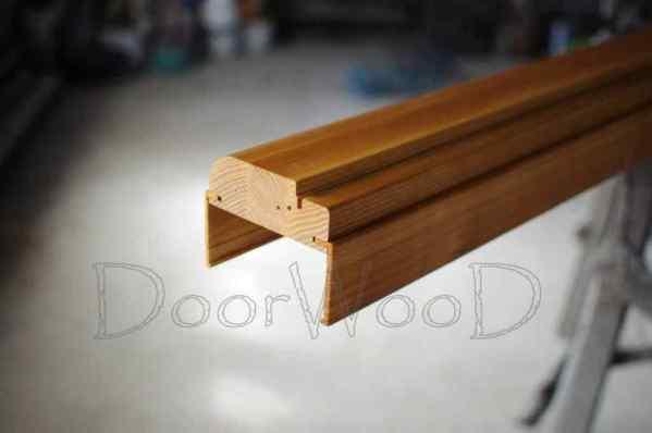 Короб дверной с наличниками