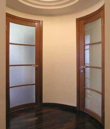 радиусные двери, двери со слеклом, двери харьков, двери дорвуд