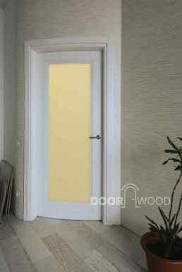 Дверной короб со скруглением на радиусной двери.