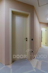 Двери DoorWooD на объекте - частный дом в Запорожье. Скрытая фурнитуа, магнитный замок и петли.