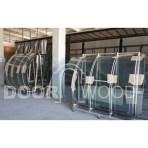 примеры работ производство окон евроокна с радиусными стеклопакетами