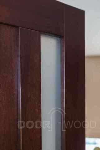 двери из ясеня стекло в двери