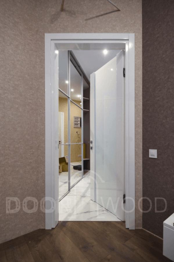 Межкомнатные двери Белый глянец Stick 1.2.1