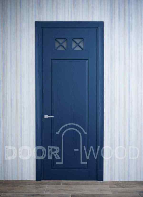 Дизайнерские двери Лофт 1.1 из массива ясеня 1