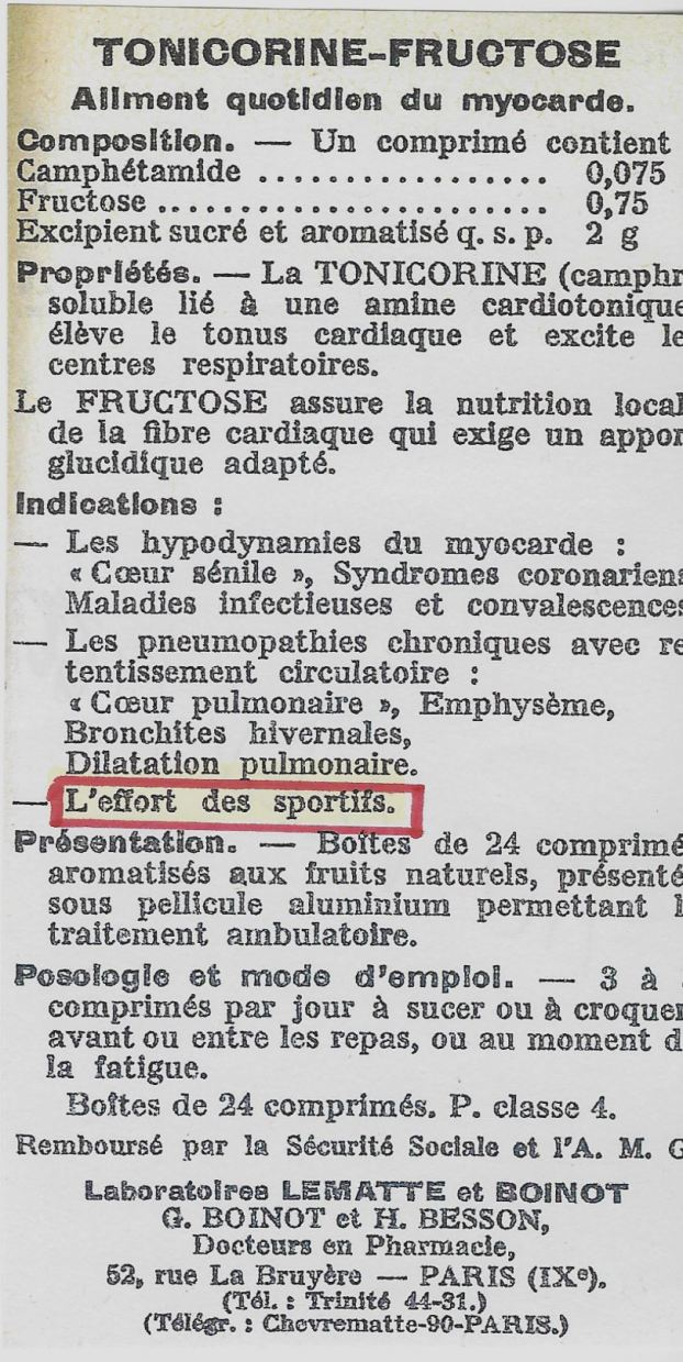tonicorine-fructose